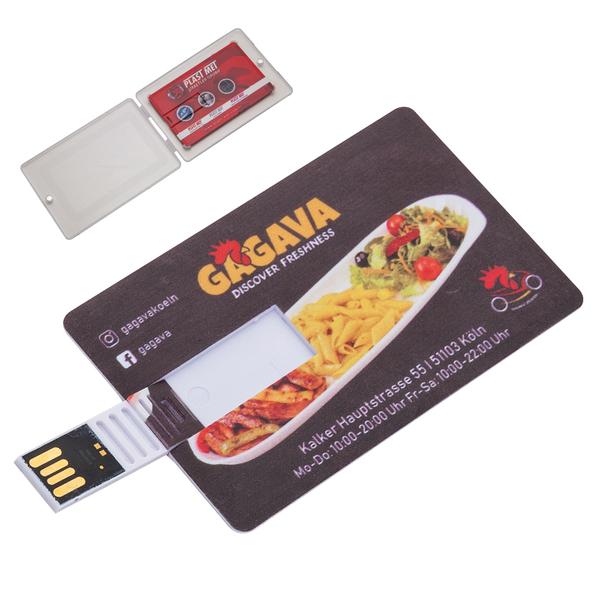 KARTVİZİT USB (PLASTİK KUTULU) - Promosyon Usb - Promosyon Ürünler