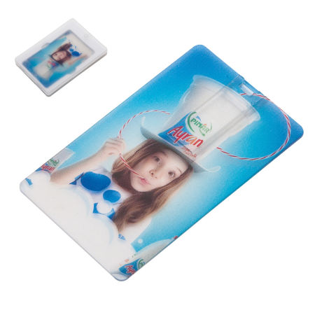 ŞEFFAF KARTVİZİT USB
