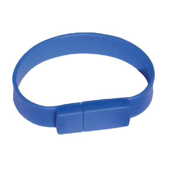 BİLEKLİK USB MAVİ  - Promosyon Usb - Promosyon Ürünler