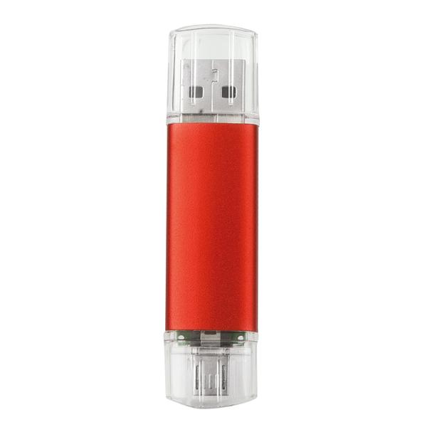 BİNGO OTG USB KIRMIZI  - Promosyon Usb - Promosyon Ürünler