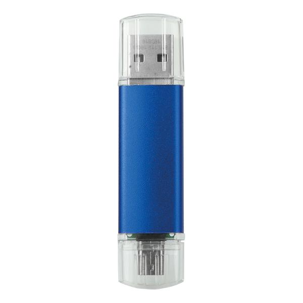 BİNGO OTG USB MAVİ - Promosyon Usb - Promosyon Ürünler