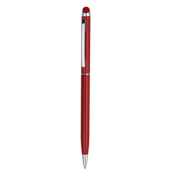 DORA ALÜMİNYUM KALEM KIRMIZI - Promosyon Metal Kalem - Promosyon Ürünler