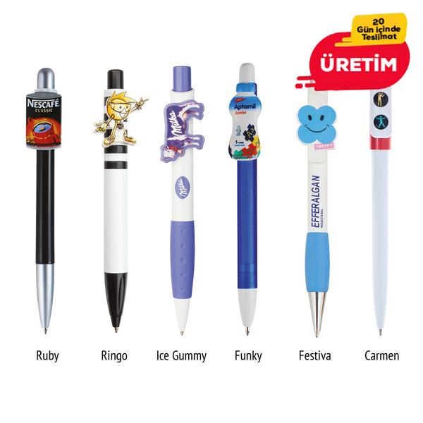 ÖZEL KLİPS KALEM - Promosyon Plastik Kalem - Promosyon Ürünler