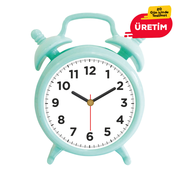 OXFORD MASA SAATİ YEŞİL - Promosyon Masa Saati - Promosyon Ürünler