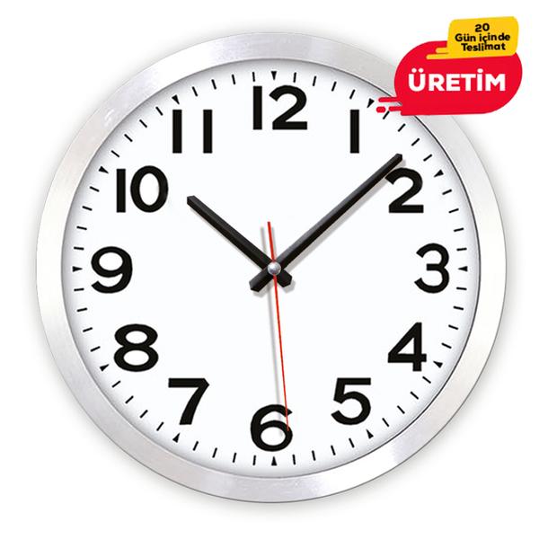 LORİN DUVAR SAATİ (36 CM) - Promosyon Duvar Saati - Promosyon Ürünler