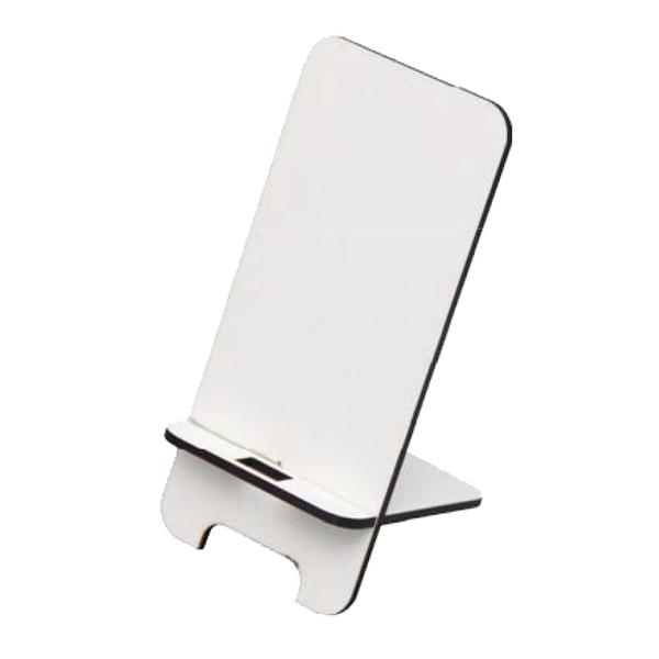 MDF TELEFON STANDI BEYAZ - Promosyon Telefon Tutucu - Promosyon Ürünler