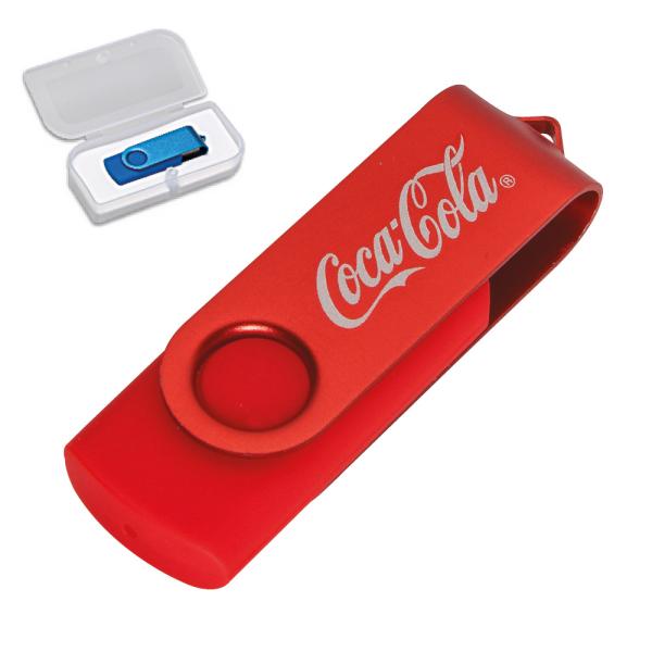 Promosyon RENGİN USB KIRMIZI