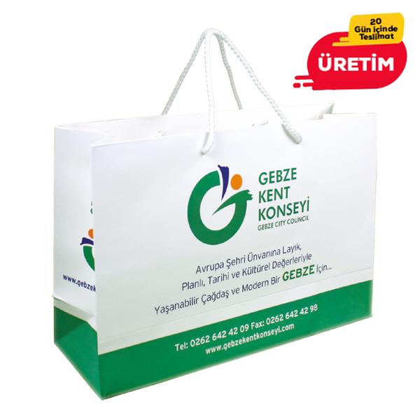 KARTON ÇANTA - Promosyon Matbaa Ürünleri - Promosyon Ürünler