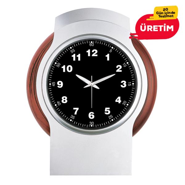 KARİZMA DUVAR SAATİ SİYAH (38 CM) - Promosyon Duvar Saati - Promosyon Ürünler