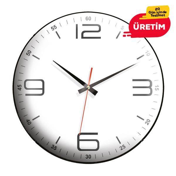 ÇEŞME DUVAR SAATİ (35 CM) - Promosyon Duvar Saati - Promosyon Ürünler